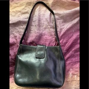 Fossil black leather Sedona bag ZB9097